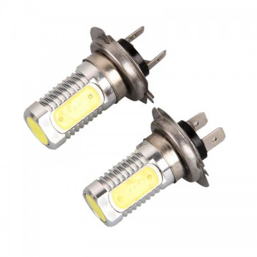 2 X Car H7 6W SMD LED Super White Headlight Bulb Light