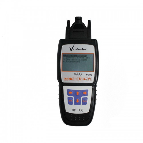 V-CHECKER V302 VAG Professional CANBUS Code Reader English Version