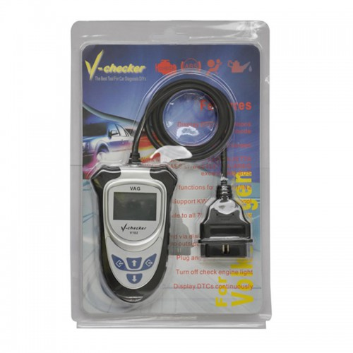 V-CHECKER V102 VAG PRO Code Reader Without CAN BUS English Version