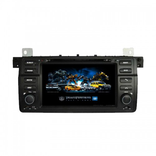 7 Inch Car DVD Player with GPS Bluetooth TV For BMW 3E46 (1998-2006)