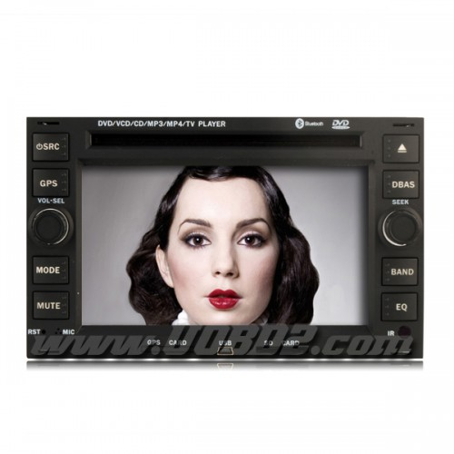 7 Inch Special In-Dash Car DVD Player For Volkswagen W/GPS IPOD TV