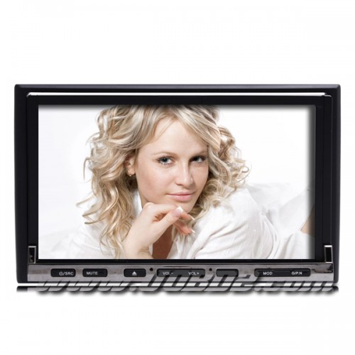 7 Inch Digital Touchscreen 2Din Car DVD Player with Bluetooth TV RDS