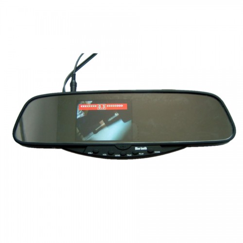 "3.5""TFT Bluetooth Handsfree kits —Bluetooth Stereo Handsfree Rearview Mirror"