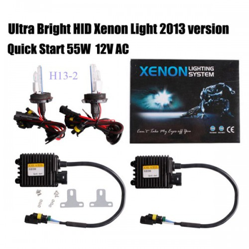 2013 Quick Start SLIM XENON HID KIT H1 H3 H4 H7 H8 H9 H10 H11 H13 9004 9005 9006 9007 55W AC 12V