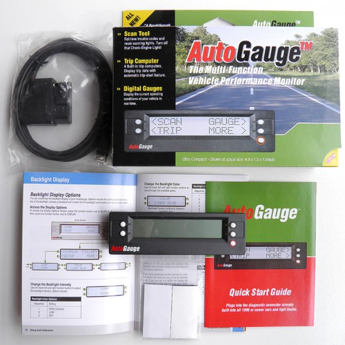 AutoGauge Multi-function Vehicle Monitor