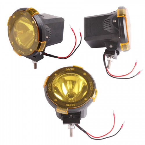 "2PCS LENS COVER FOR NFA style 4 ""7"" 9 ""INCH HID XENON work light 2012「製造停止」"