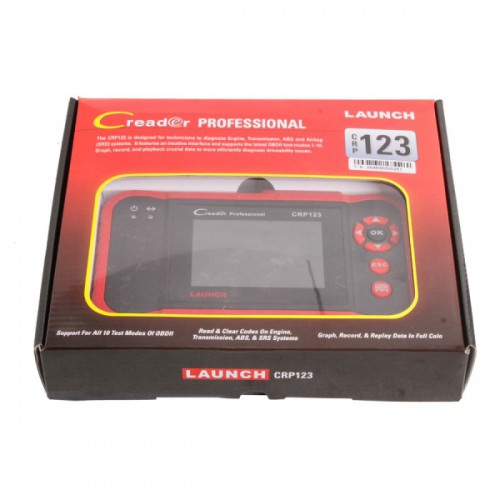 Launch CReader Professional 123 Launch CRP123 New Generation of Core Diagnostic Product