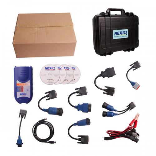 NEXIQ 125032 USB Link + Software Diesel Truck Diagnose Interface and Software with All Installers