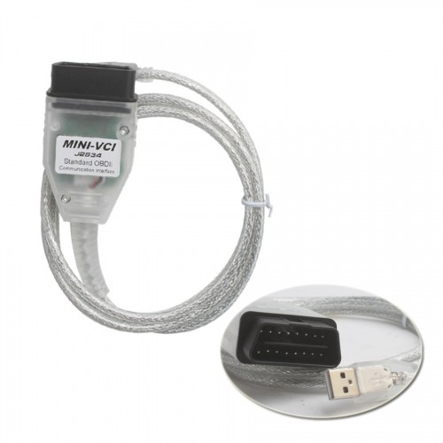 XHORSE MINI VCI FOR TOYOTA TIS Techstream V10.30.029 single cable「製造停止、SV46-BやSV46-Dを選択」
