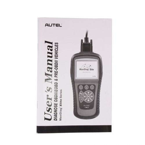 AUTEL正規品 MaxiDiag Elite MD802 All System+DS Model