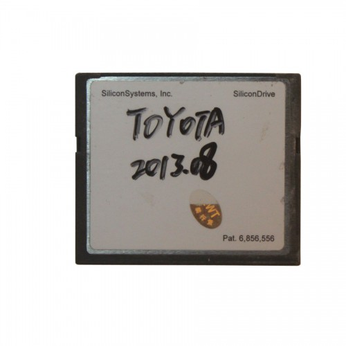 2016.3V 64MB TF Card for Toyota IT2 (for Toyota/Suzuki/Blank Card 選択可能)