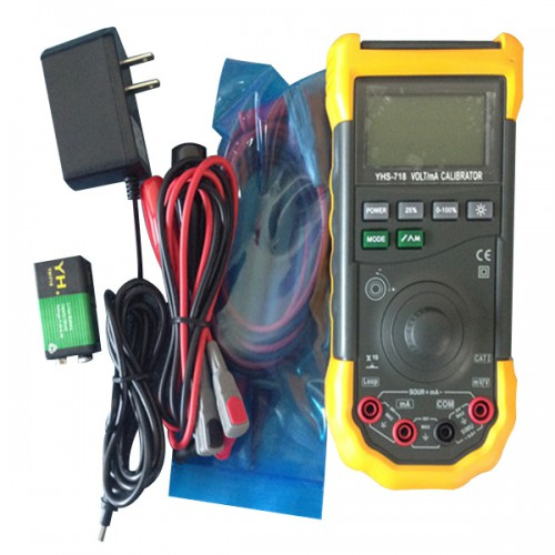 New YH-718 Loop Volt and MA Signal Source Process Calibrator Meter Tester製造停止