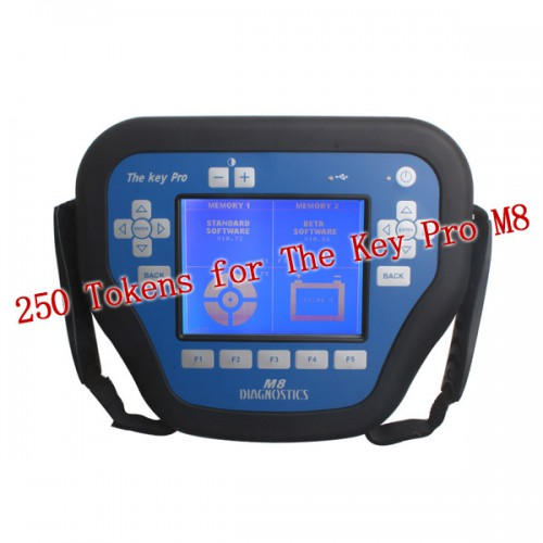 750 Tokens for The Key Pro M8 Auto Key Programmer /トークンだけ、M8デバイス無し
