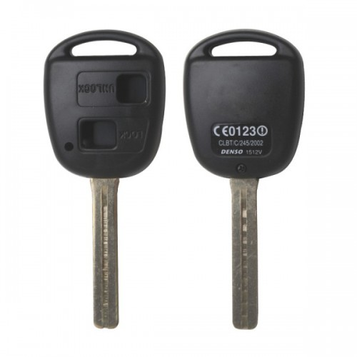 Remote Key Shell 2 Button TOY40(Long) for Lexus 5pcs/lot