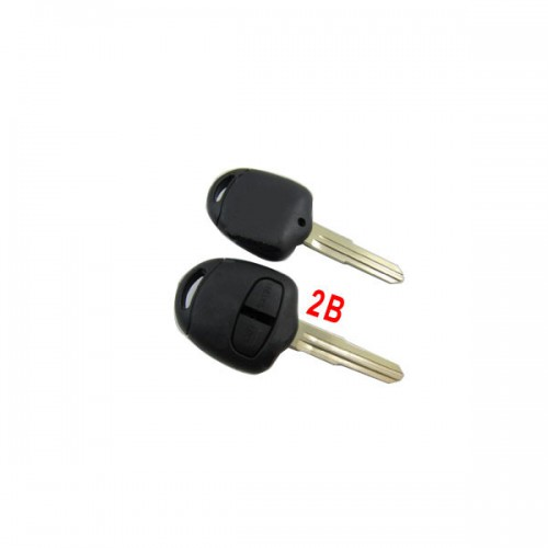 Remote Key Shell 2 Button (Without Inside Remote Shell) for Mitsubishi 5pcs/lot