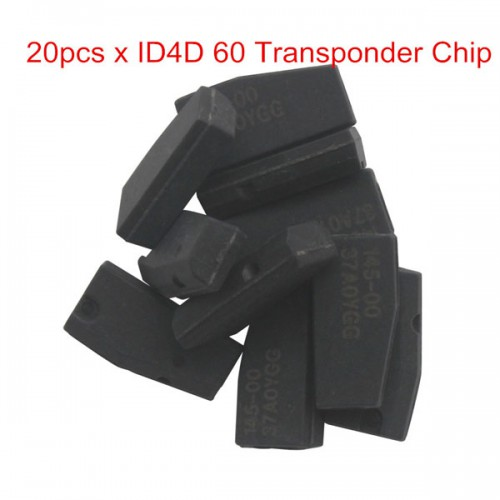 ID4D 60 Transponder Chip 80Bit Blank 20 pc/lot
