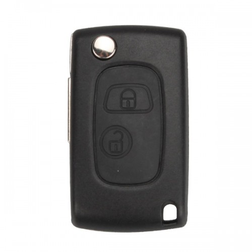Modified Flip Romote Key Shell 2 Button Va31 for Citroen 5cs/lot