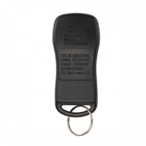 TIIDA Remote 4 Button (315MHZ) for Nissan