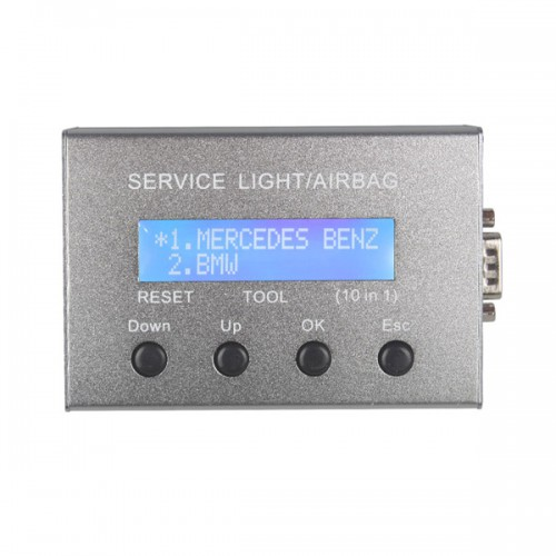 Universal 10 in 1 Service Light & Airbag Reset Tool