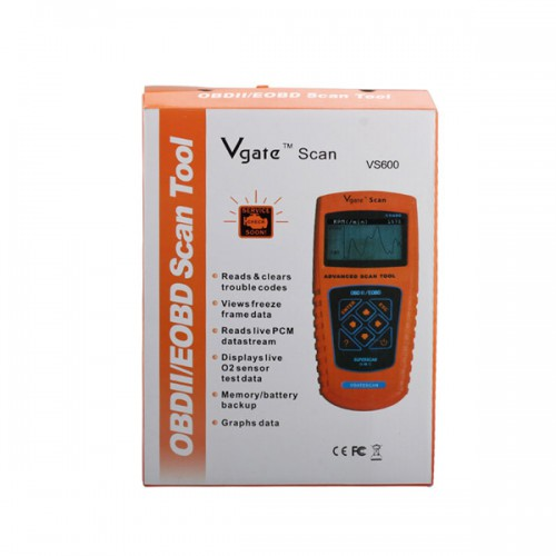 VS600 VgateScan Advanced OBD2/EOBD Scanner