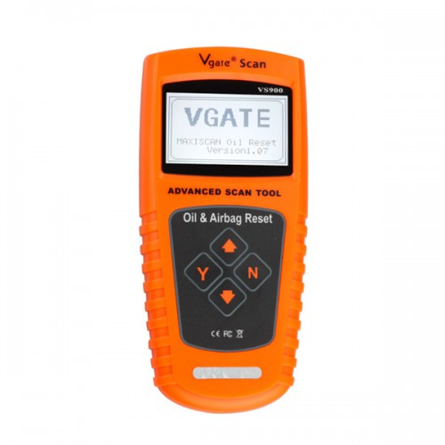 VS900 VGATE Oil/Service and Airbag Reset Tool
