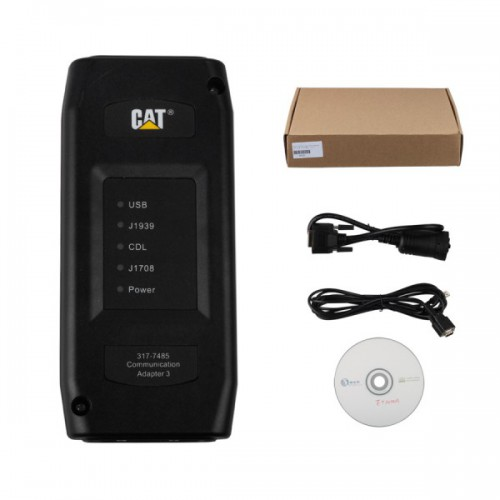 Real 2015A Caterpillar ET3 Adapter III P/N 317-7485 Professional Diagnostic Adapter for CAT