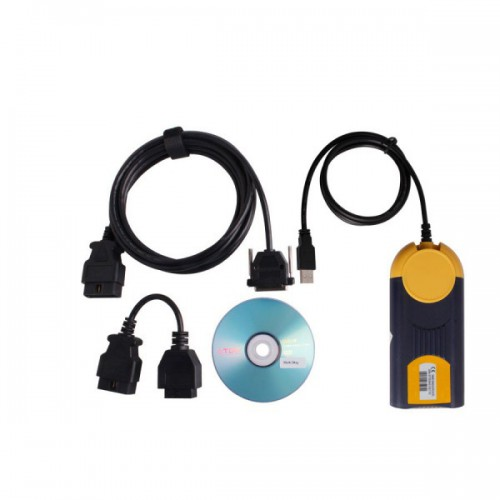 V2014.01 Multi-Diag Access J2534 Pass-Thru OBD2 Device