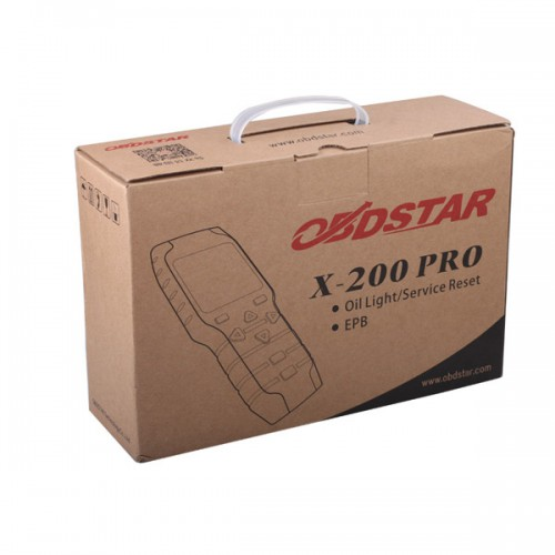 Original OBDSTAR X-200 X200 Pro A+B Configuration for Oil Reset + OBD Software + EPB