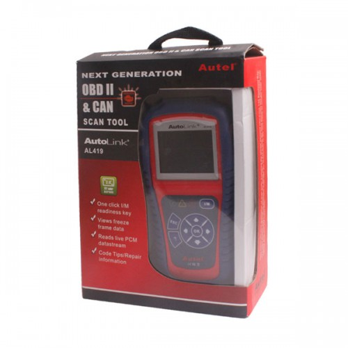 AutoLink AL419 OBDII&CAN SCAN TOOL NEXT GENERATION