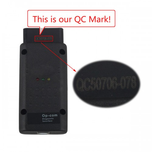 Opcom OP-Com 2012V Can OBD2 for OPEL Firmware V1.59(PIC18F458 チップ) 【製作停止】