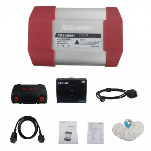 VXDIAG 多機能診断機 4 in 1 for TOTOYA/Ford and Mazda/JLR(MULTI Diagnostic Tool) with WIFI