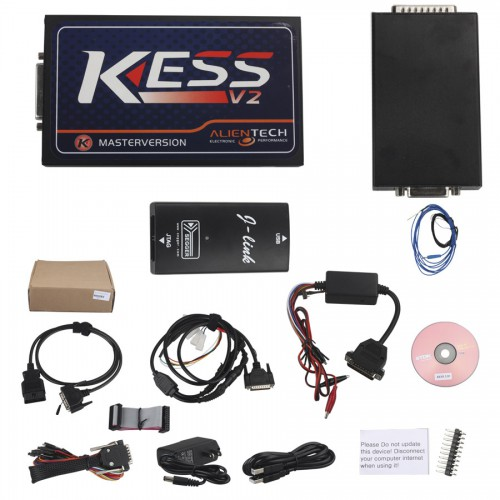 V2.37 KESS V2 OBD Tuning Kit Master Version No Token Limitation Firmware V3.099