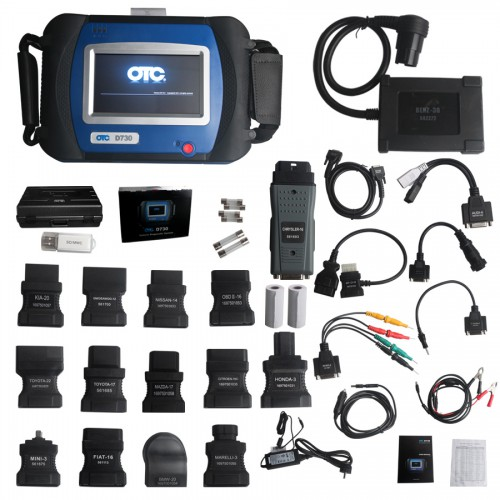 SPX AUTOBOSS OTC D730 Automotive Diagnostic Scanner with Built In Printer
