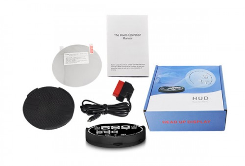 V-checker H501 Head Up Display for OBD1 OBD2 JOBD EOBD Vehicles with Bluetooth function