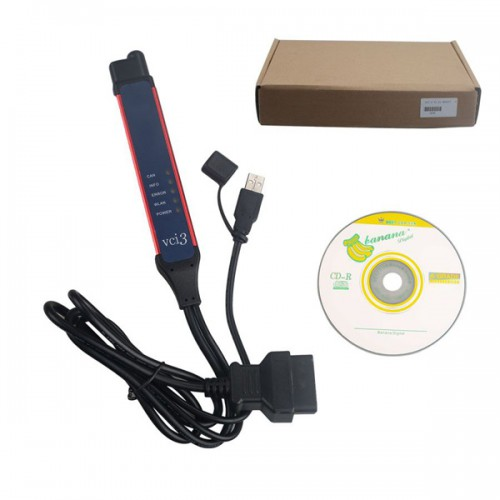 V2.31 Scania VCI-3 VCI3 Scanner Wifi Wireless Diagnostic Tool for Scania日本語対応