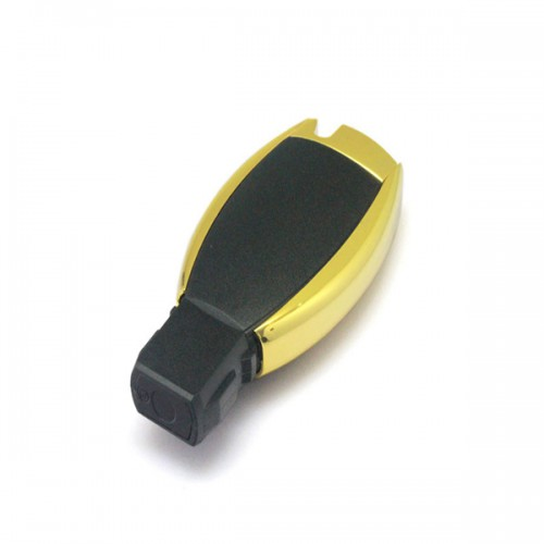 Waterproof Remote Shell 3Buttons (Small Button with Light) for Mercedes-Benz Without Emergency Key