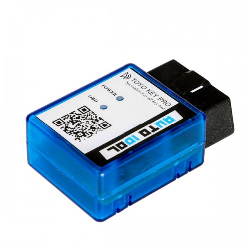 TOYO KEY PRO OBD II on Toyota 40/80/128 BIT (4D, 4D-G, 4D-H) All Key Lost (plug-and-play) 製造停止