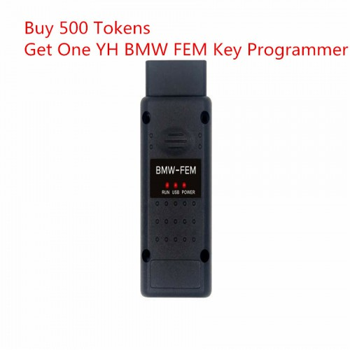 YH BMW FEM/BDC Key Programmer with 500 Tokens For Digimaster 3/CKM100