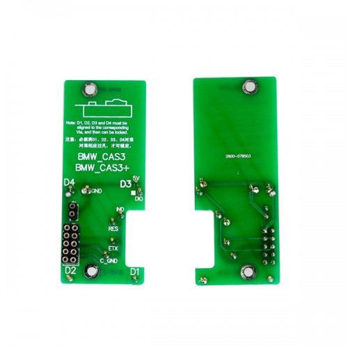 Yanhua Mini ACDP BMW CAS1 CAS3+ CAS4+  IMMO & ODO authorization and adapter