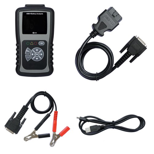KZYEE KM301 OBD+Battery Analyzer+Reset