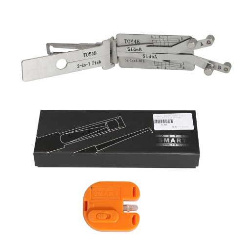 TOY48 2 in 1 Auto Pick and Decoder for TOYOTA Smart