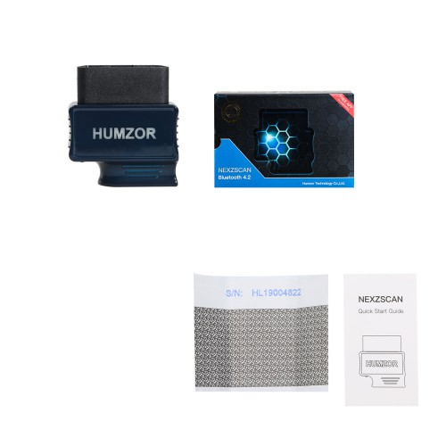 HUMZOR NEXZSCAN NL50 New Generation Bluetooth 4.2 Code Reader for Android & IOS System