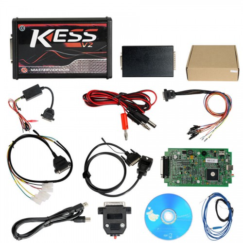 Online Version Kess V5.017 with green PCB Support 140 Protocol No Token Limited Green Board