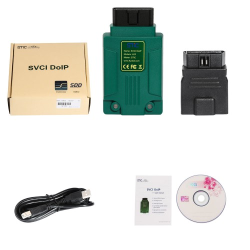 STC SVCI DoIP SDD Pathfinder Diagnostic Tool for Jaguar and Land Rover 2005-2019 Online Programming Supports WIN7 WIN8 WIN10