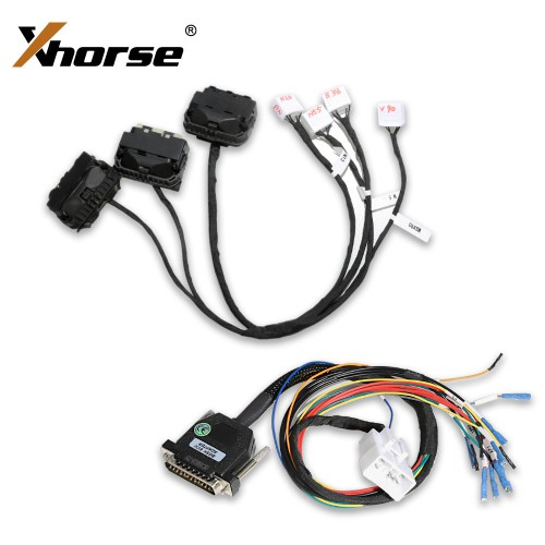 Xhorse VVDI PROG BMW ISN DME Clone Cable with Dedicated Adapters B38 N13 N20 N52 N55 MSV90