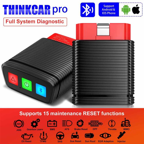 ThinkCar Pro Thinkdiag Mini OBD2 Full System Scanner With 5 Free Software