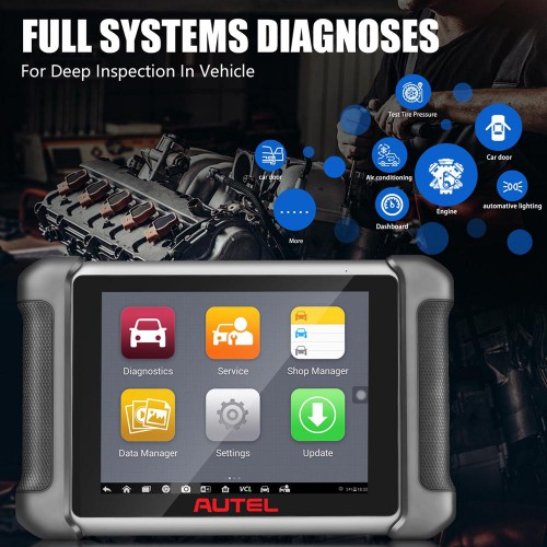 AUTEL MaxiSys MS906BT Advanced Wireless Diagnostic Devices for Android Operating System