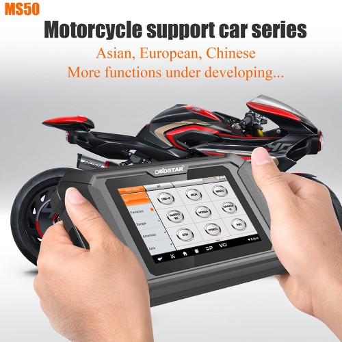 OBDSTAR MS50 Motorcycle Diagnostic Tool