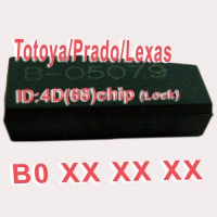 4D (68) Chip B0xxx for Toyota/Prado/Lexus 10pcs/lot
