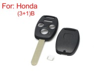 Remote key shell 3+1 button for Honda 5pcs/lot